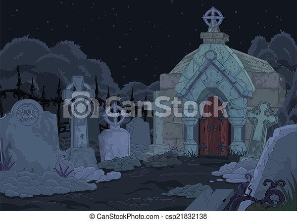 kyrkogård - csp21832138