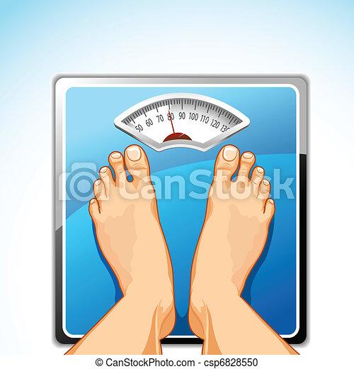 lábak, gép, mérés - csp6828550