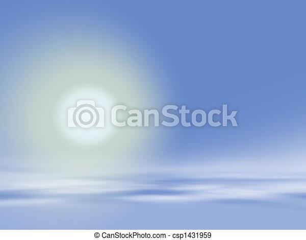 lágy, ég, háttér - csp1431959