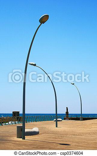 lámpara, calle - csp0374604