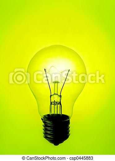 Una lámpara - csp0445883