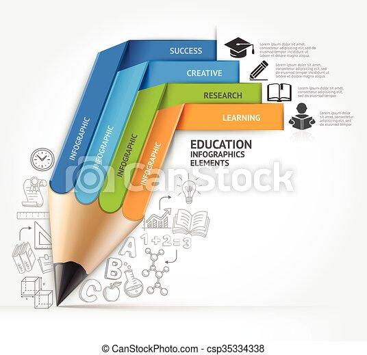 lápis, conceitos - csp35334338