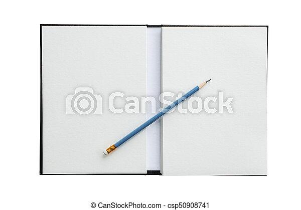 Lápices con papel - csp50908741