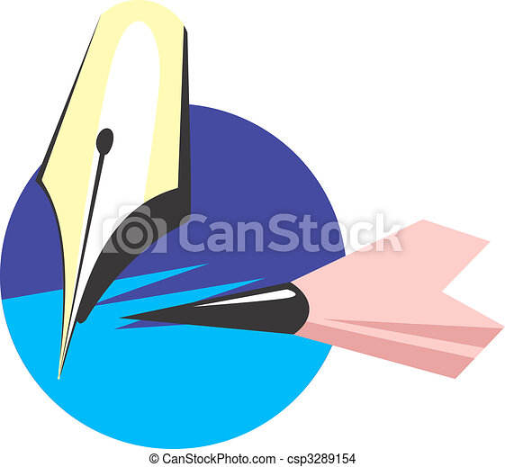 lápiz, pluma - csp3289154
