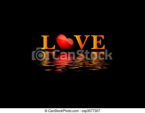 láska - csp3577307