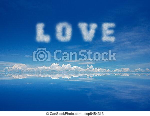 láska - csp8454313