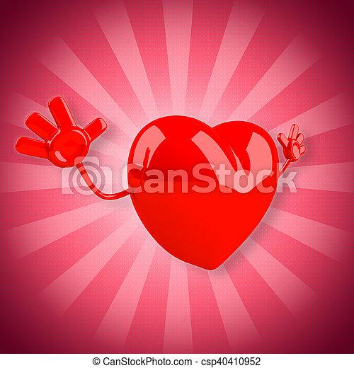 láska - csp40410952