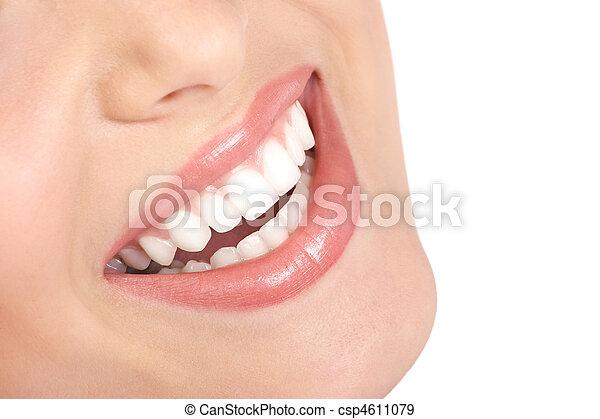 Frau lächeln - csp4611079