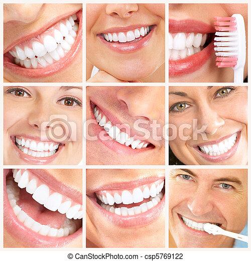 lächeln, z�hne - csp5769122