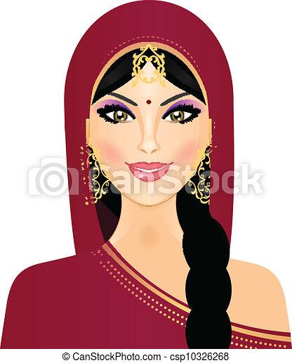 Eine Frau lächelt - csp10326268
