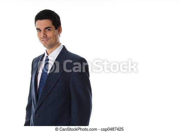 lächelnden mann - csp0487425