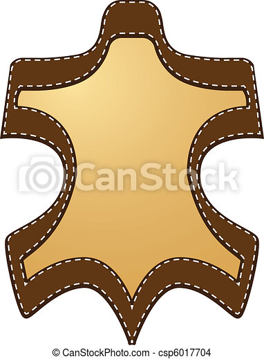 läder, etikett - csp6017704