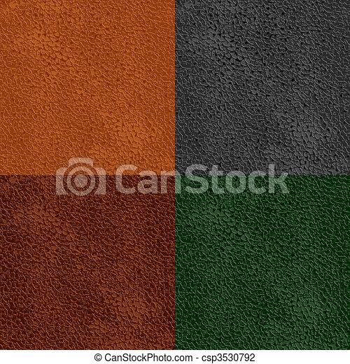 läder, mönster, seamless - csp3530792