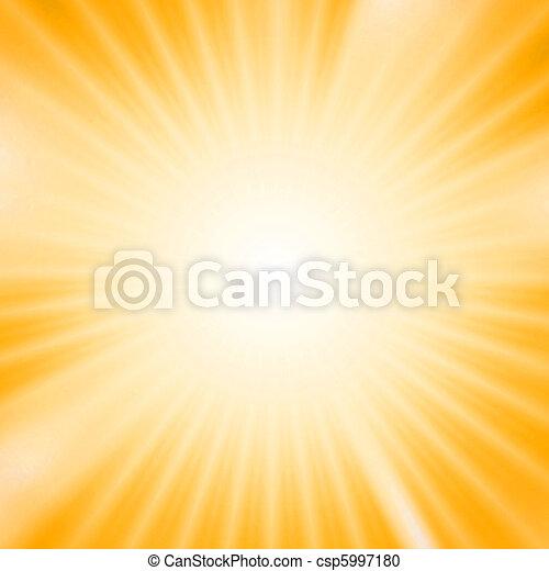 lätt, över, gul fond, brista - csp5997180