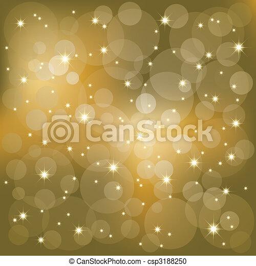 lätt, stickande, stjärnor, bakgrund - csp3188250