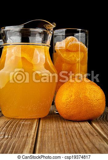 lé, narancsfák - csp19374817
