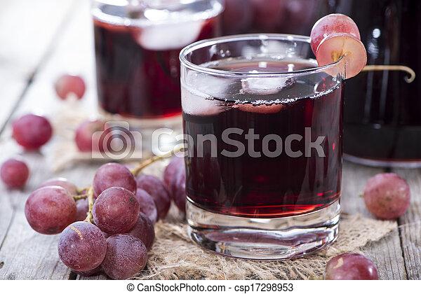 lé, szőlő, piros - csp17298953