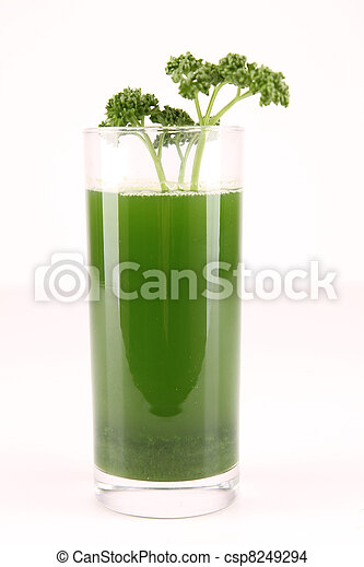 lé, zöld, elszigetelt - csp8249294