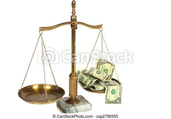 légal, honoraires - csp2798355