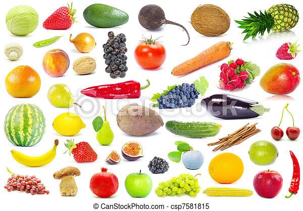 légume, fruits - csp7581815