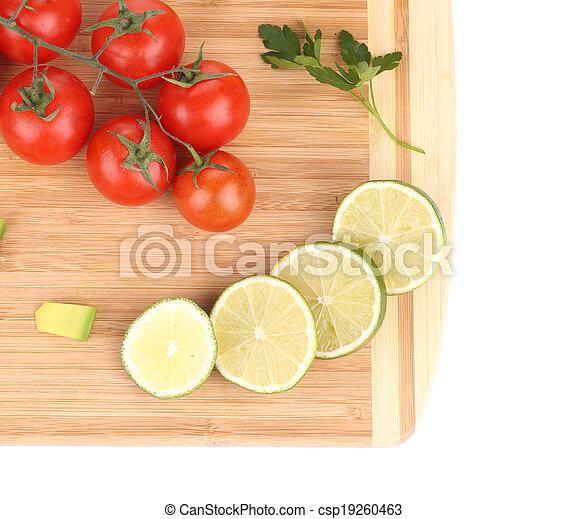 légumes, fruits., assorti - csp19260463