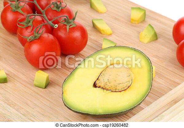 légumes, fruits., assorti - csp19260482