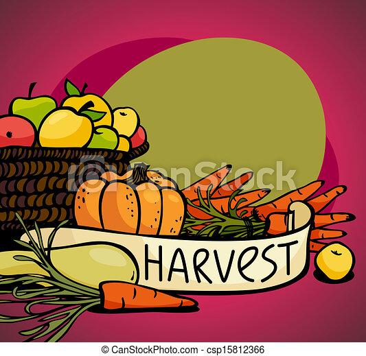 légumes, fruits - csp15812366