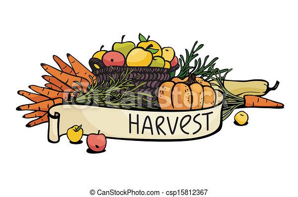 légumes, fruits - csp15812367