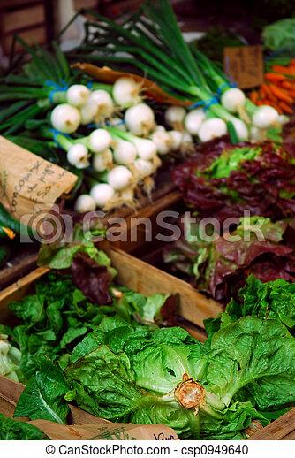légumes, marché - csp0949640