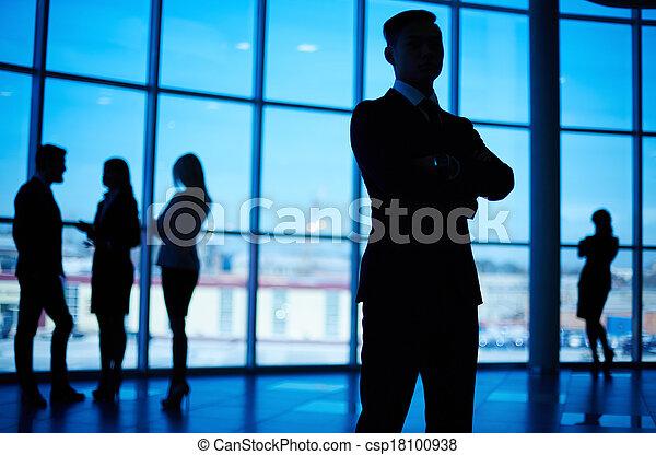 líder, empresa / negocio - csp18100938