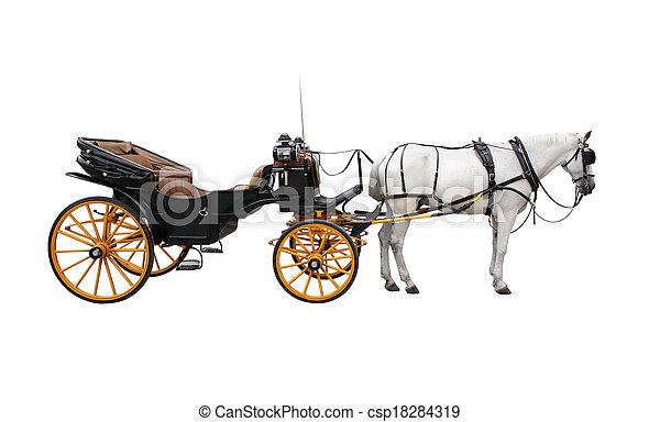 ló kézikocsi - csp18284319