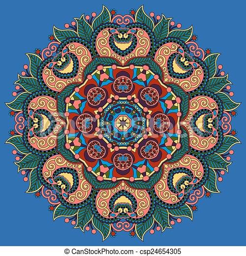 lótusz, jelkép, indiai, virág - csp24654305