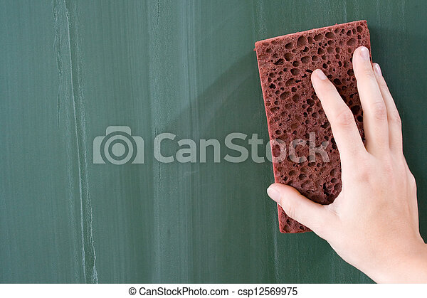 Tafel wischen clipart  Abbildung von löschen, tafel - löschen, grünlich, blackboard ...