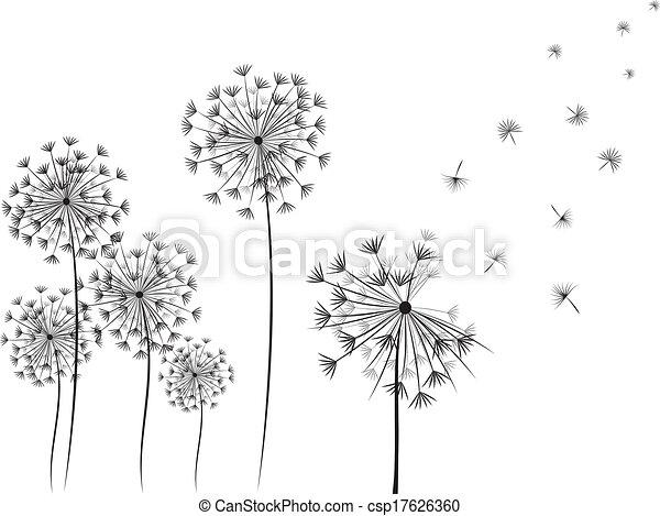 Dandelions - csp17626360
