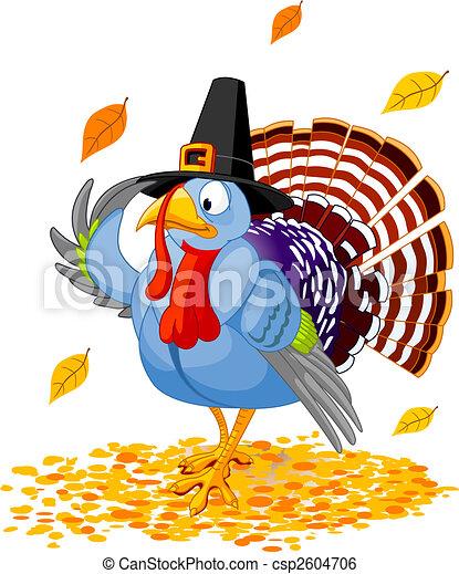 Pavo de Acción de Gracias - csp2604706