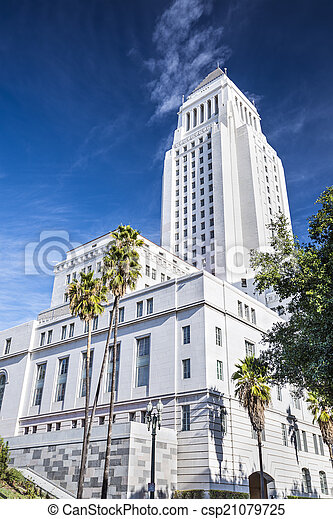 LA City Hall - csp21079725