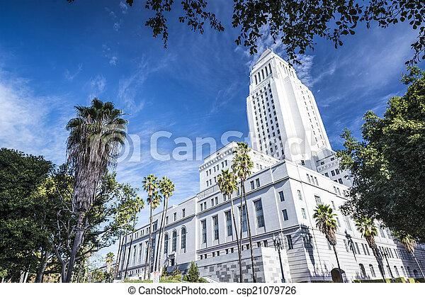 LA City Hall - csp21079726