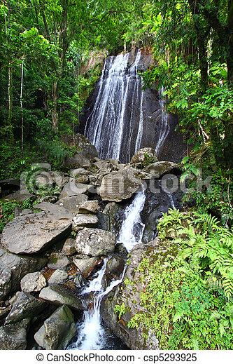 La Coca Falls - Puerto Rico - csp5293925