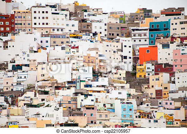La Palmas de Gran Canaria, Ciudad Alta - csp22105957