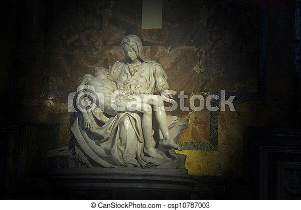 La pieta en santo Peter Basilica - csp10787003