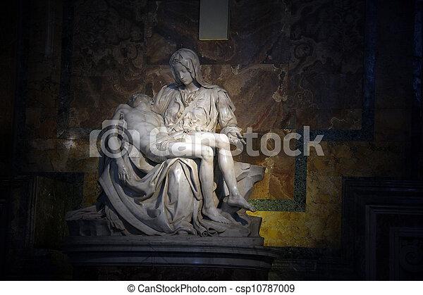 La pieta en santo Peter Basilica - csp10787009