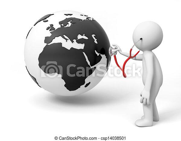 la terre - csp14038501