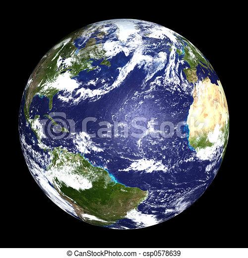 la terre - csp0578639