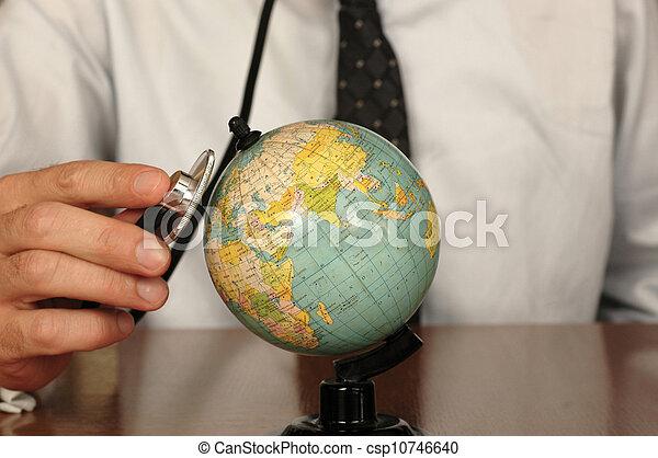 la terre, guérison - csp10746640