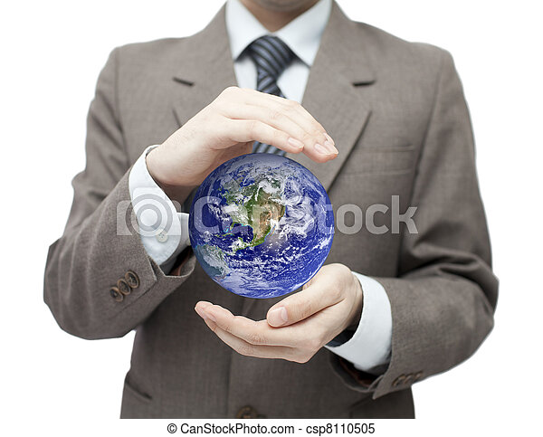 la terre, protéger - csp8110505