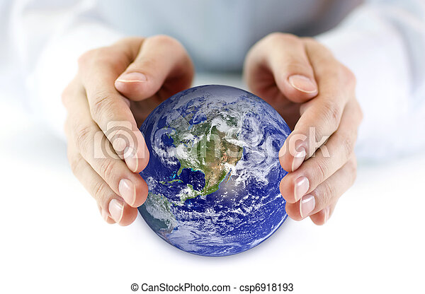 la terre, protéger - csp6918193