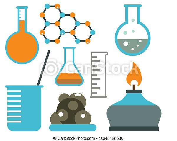 lab symbols test medical laboratory scientific biology vectors rh canstockphoto ca science lab equipment clipart science lab clipart free