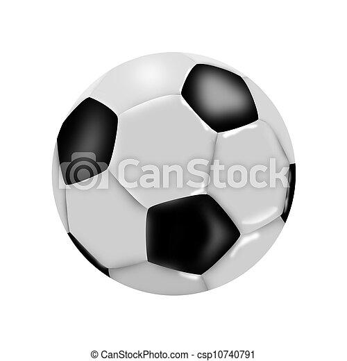 labda, futball - csp10740791