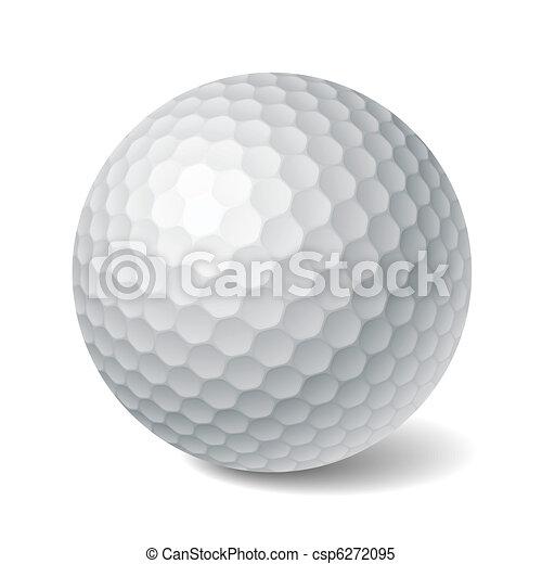 labda, golf - csp6272095