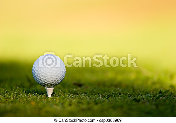 labda, golf - csp0383969